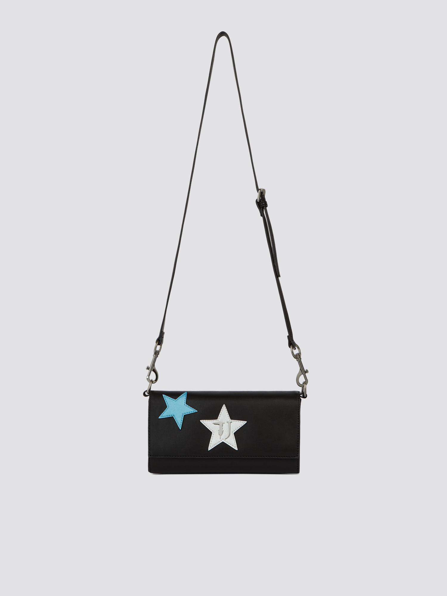 Mini clutch T-Easy Night in similpelle con stelle