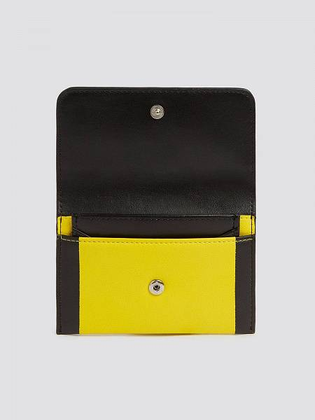 Porta tessere With Love bifold small bicolor con logo