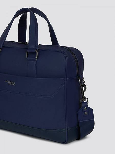 Borsa Business medium in similpelle con tracolla