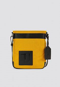 Borsa Ticinese Reporter medium in cordura e similpelle